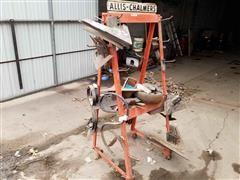 Allis-Chalmers Cultivator Shovels & Rack