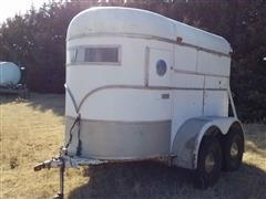 1976 WW Single Horse T/A Trailer