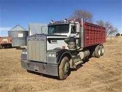 1987 Kenworth W900 T/A Grain Truck