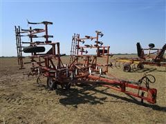 Wil-Rich 24' Field Cultivator & 3 Bar Harrow