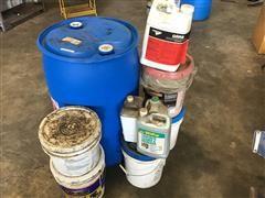 Windshield Washer Fluid & Misc Buckets Of Detergent