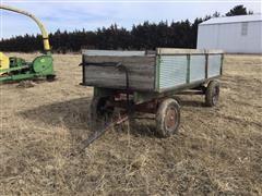 Electric Wheel Co 391 Hydraulic Dump Wagon