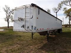 2002 Timpte Super Hopper 42' T/A Grain Hopper Trailer