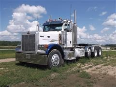 2007 Peterbilt 379 Day Cab Tri/A Truck Tractor