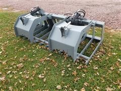 """2020 Hawz 76"""" Wide Root Grapple Skid Steer Attachment"""