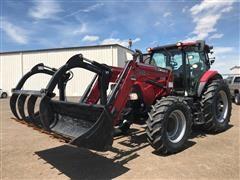 2013 Case IH Maxxum 115 MFWD Tractor W/Loader