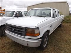 1997 Ford F350XL Crew Cab Pickup For Parts