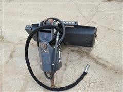 Bobcat Hydraulic Skid Steer Post Hole Digger W/Auger