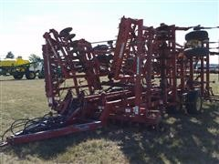 Krause 6336A 36' Field Cultivator With Harrows & Roller Finishers