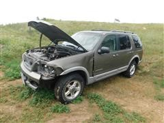 2002 Ford Explorer Sport Utility Vehicle