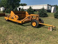 1982 Soil Mover 95E Pull Type Earth Scraper