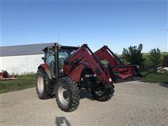 2009 Case IH Maxxum 125 MFWD Tractor