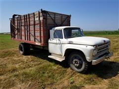 1965 Ford F602 Forage Dump Truck