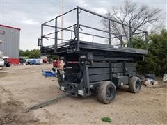 1994 MCT UMS-D Scissor Lift Split-Deck Maintenance Platform