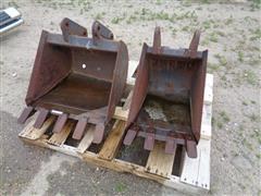 Bobcat Backhoe Dirt Buckets