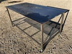 4' X 8' Metal Work/Welding Bench