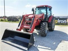 2017 Mahindra 105 XL-P MFWD Tractor W/Loader