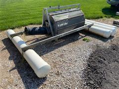 River Screen Irrigation Pump Rotary Screen