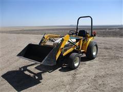 Cub Cadet 7195 MFWD Tractor W/Loader, Blade & Mower Deck