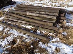 Wood Line Posts