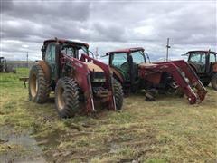 Case IH MXU 130 MFWD Parts Tractors