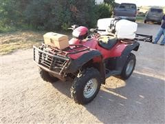 2007 Honda Foreman ATV w/Sprayer