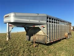 1997 Travalong T/A Livestock Trailer