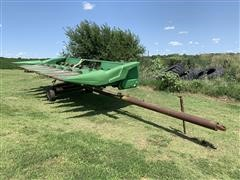 John Deere 843 8R30 Corn Head W/Header Trailer