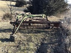 Case 100 Side-Delivery Rake