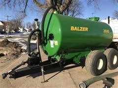 Balzer SV2600 Liquid Spreader