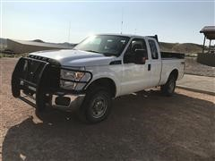 2015 Ford F250XL Super Duty 4x4 Extended Cab Pickup
