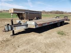 1994 Interstate T/A Flatbed Trailer