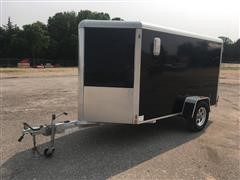 2012 Aluma 12' X 5' Enclosed Trailer