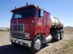 1987 International COF9670 Cab-Over T/A Water Truck