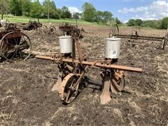 Dempster 2 Row Planter & Dearborn Rotary Hoe