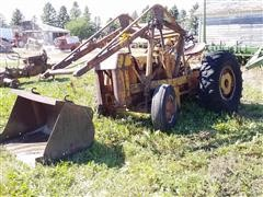 Case 2WD Industrial Tractor W/Loader