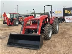 Mahindra 6065 Compact Utility Tractor W/Loader