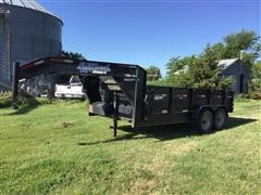 2013 Road Clipper 20' T/A Dump Trailer