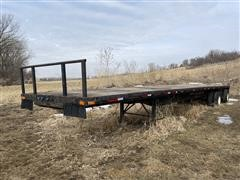1996 Transcraft 48' T/A Flatbed Trailer
