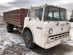 1971 Ford 600 Custom Cab Tilt Cab Straight Truck