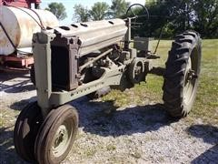 1947 John Deere Model B 2WD Tractor **Unfinished Project - DOES NOT RUN**