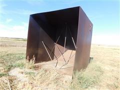 Shop Built Grain Hopper For Dump Pit