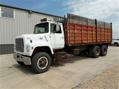 1979 Ford LNT 9000 T/A Silage/grain Truck