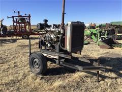 Isuzu 6BD1T Diesel Power Unit On Trailer