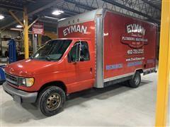 1997 Ford E350 Cutaway Cargo Truck