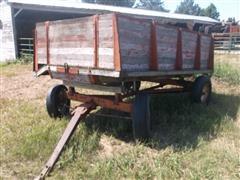 """Electric Wheel Co 10' X 5' 6"""" Wood Wagon Box"""