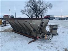 Monroe Dump Truck Mount Salt/Sand Spreader
