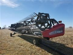 2009 Case IH 2162 Flex Draper & Trailer