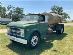 1970 Chevrolet C/50 S/A Water Truck W/1600-Gallon Tank