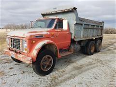 1972 GMC 6500 T/A Dump Truck